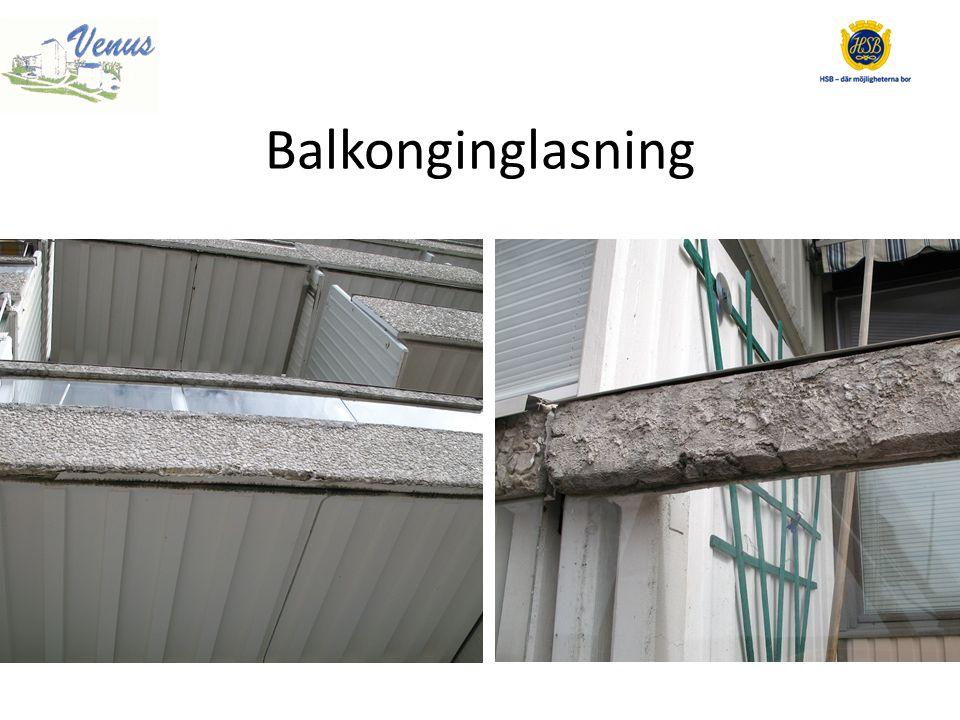 Balkonginglasning