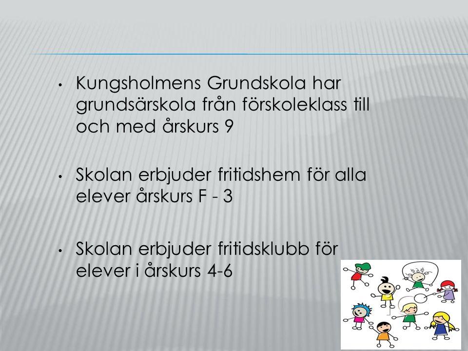 Skolan är en av de bästa kommunala skolorna 2014 i Stockholm sett till meritvärdet i skolår 9.