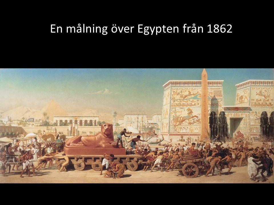 En målning över Egypten från 1862