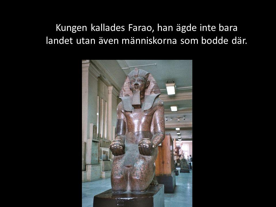 Farao härskade inte bara på jorden utan även i dödsriket.