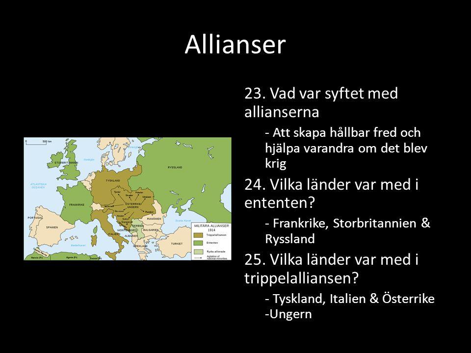Allianser 23.