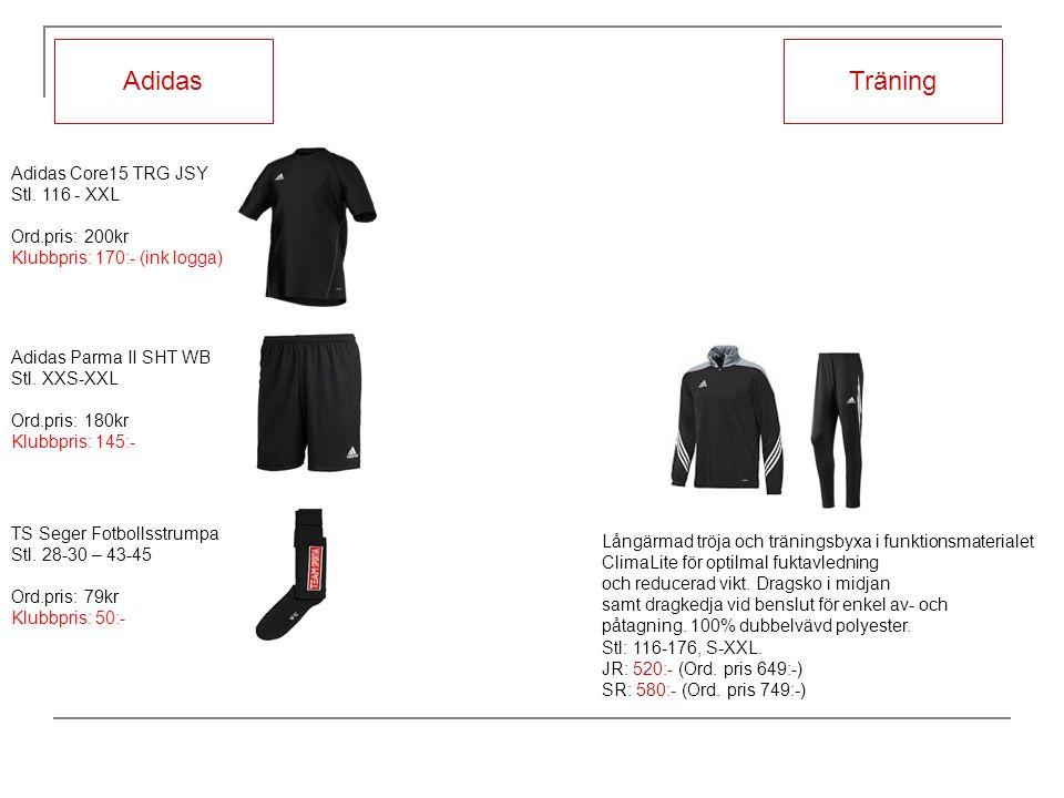 Långärmad tröja och träningsbyxa i funktionsmaterialet ClimaLite för optilmal fuktavledning och reducerad vikt.