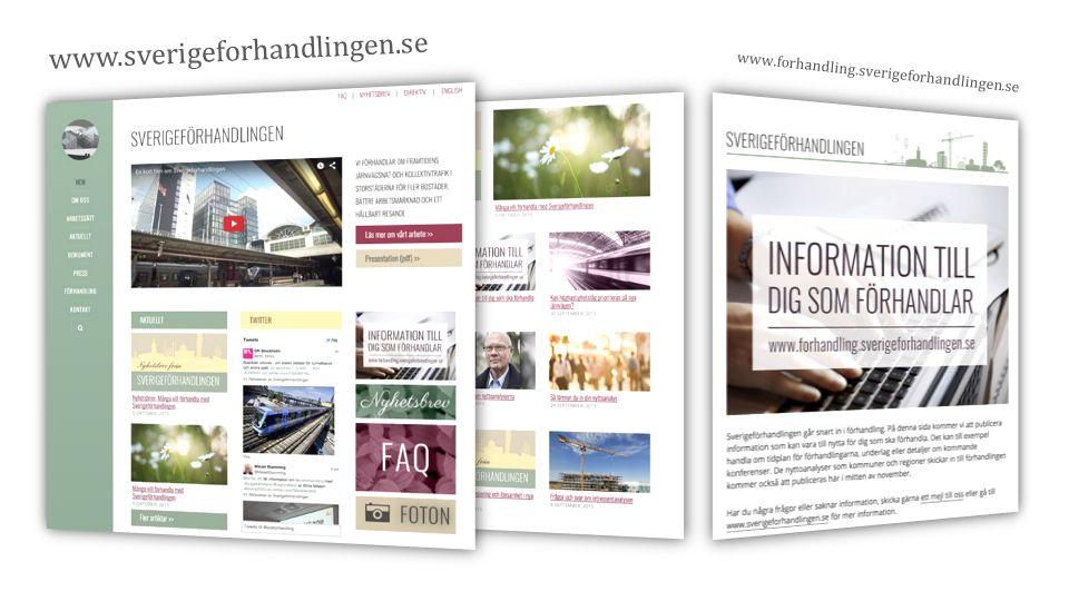www.sverigeforhandlingen.se www.forhandling.sverigeforhandlingen.se