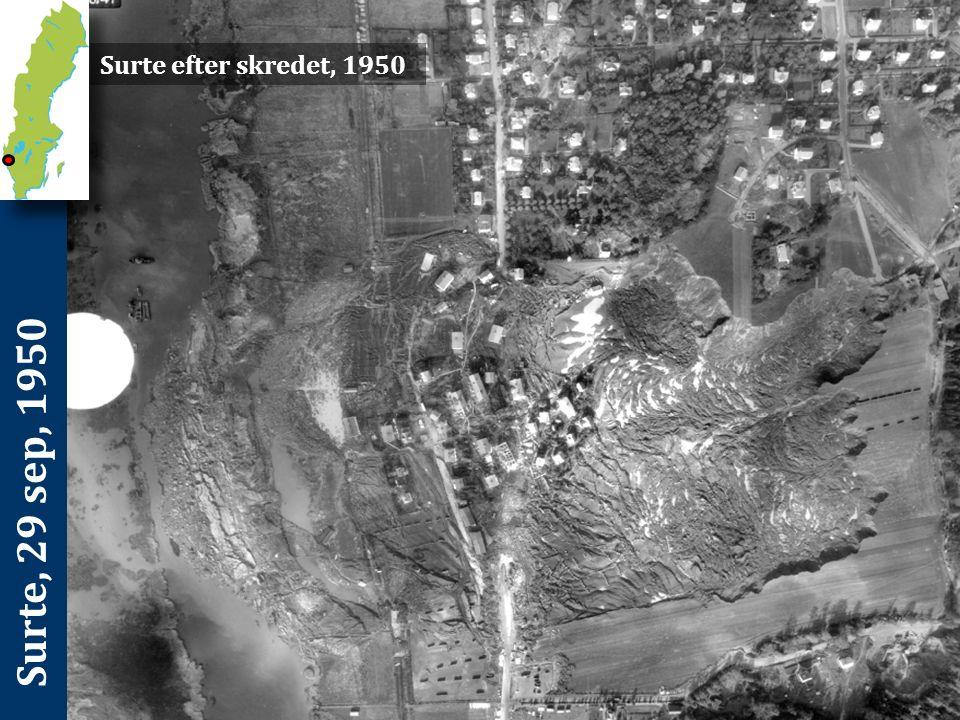 Ballabo, 16 apr, 1996 Vidare inträffade skredet längs en sträcka av älven där denna kröker och den västra stranden som bildar ytterkurva är särskilt utsatt för erosion.