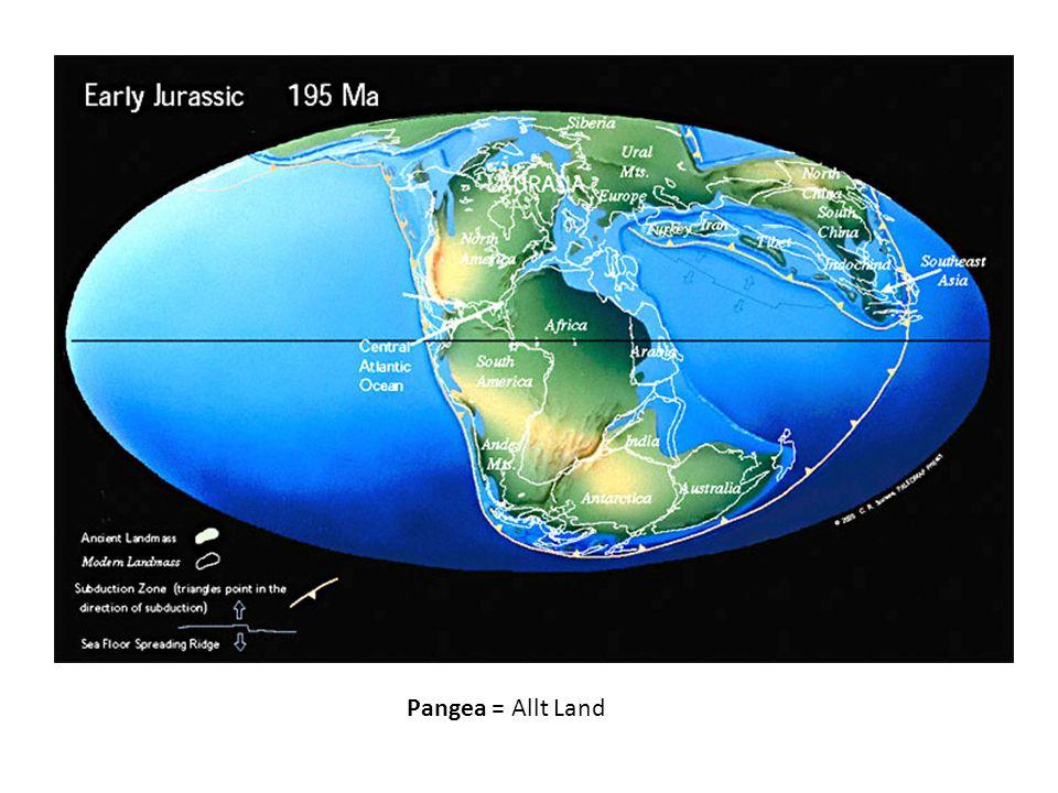 Pangea = Allt Land