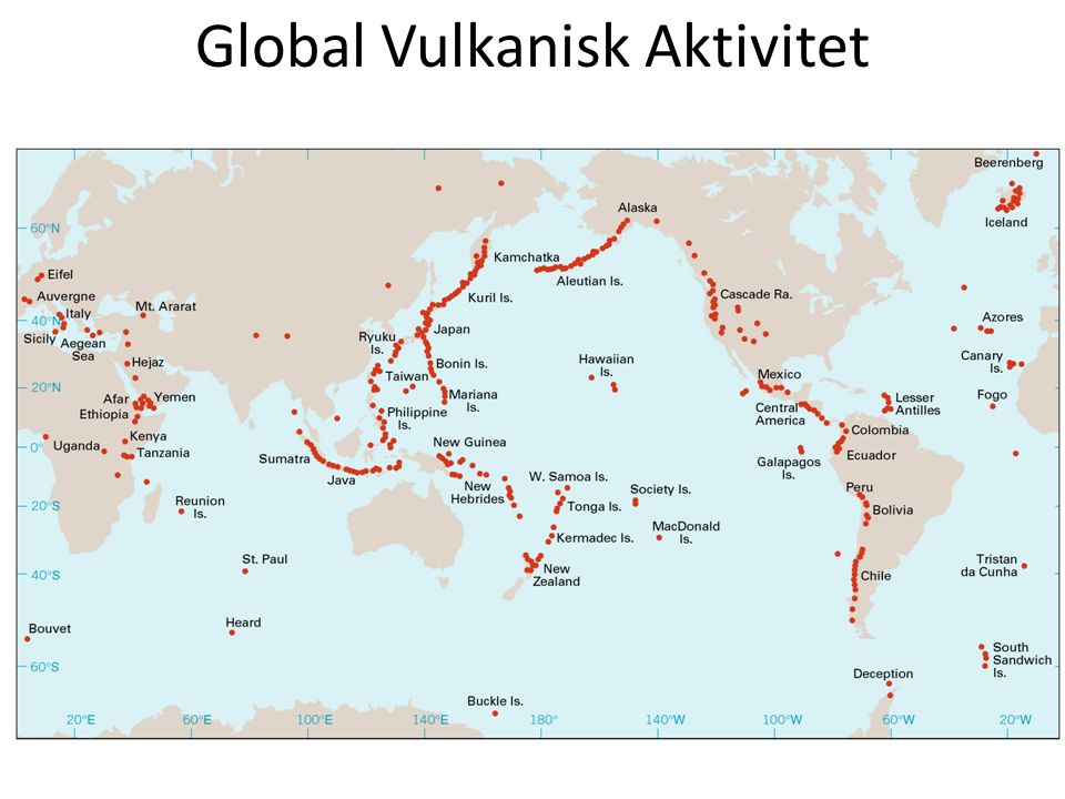 Global Vulkanisk Aktivitet