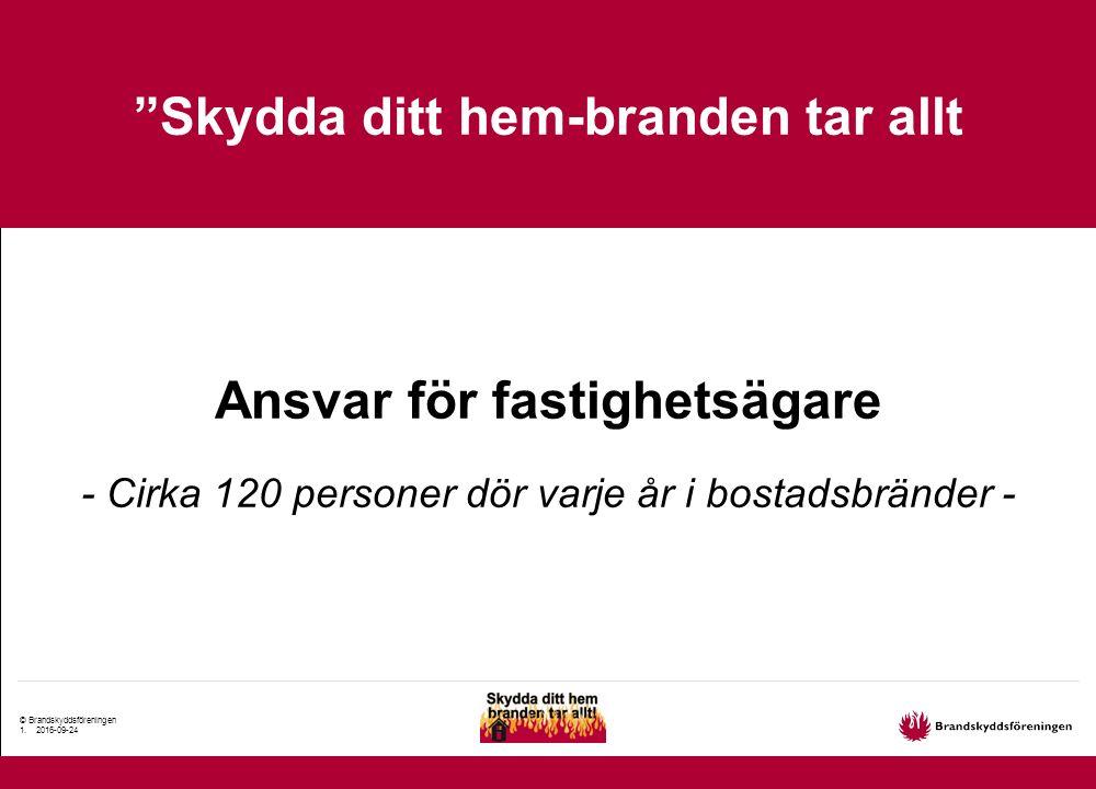 © Brandskyddsföreningen 2.