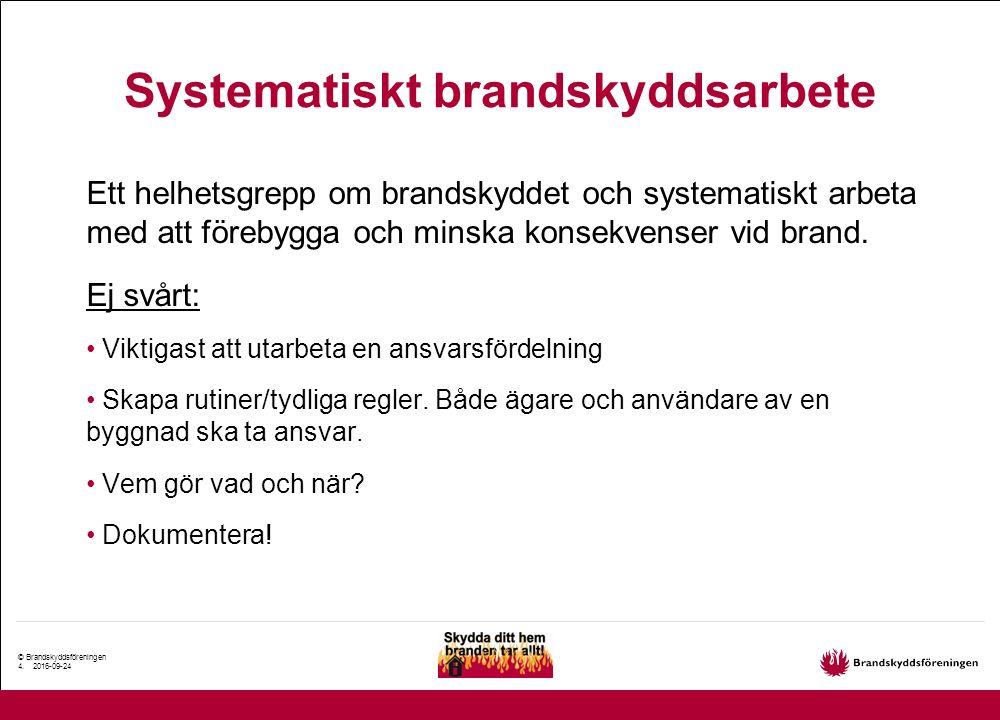 © Brandskyddsföreningen 5.