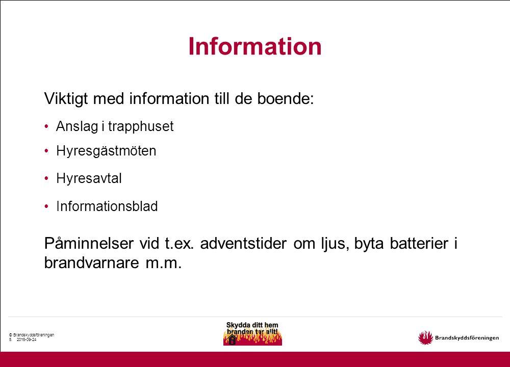 © Brandskyddsföreningen 6.