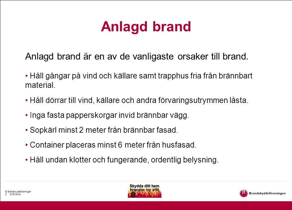 © Brandskyddsföreningen 9.
