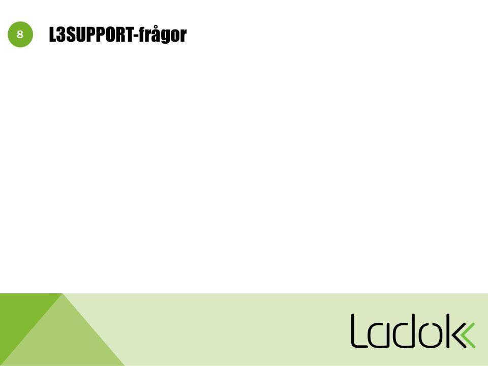 9 L3SUPPORT-2152: Synpunkt resultatlev.