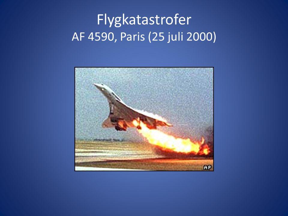 Flygkatastrofer AF 4590, Paris (25 juli 2000)