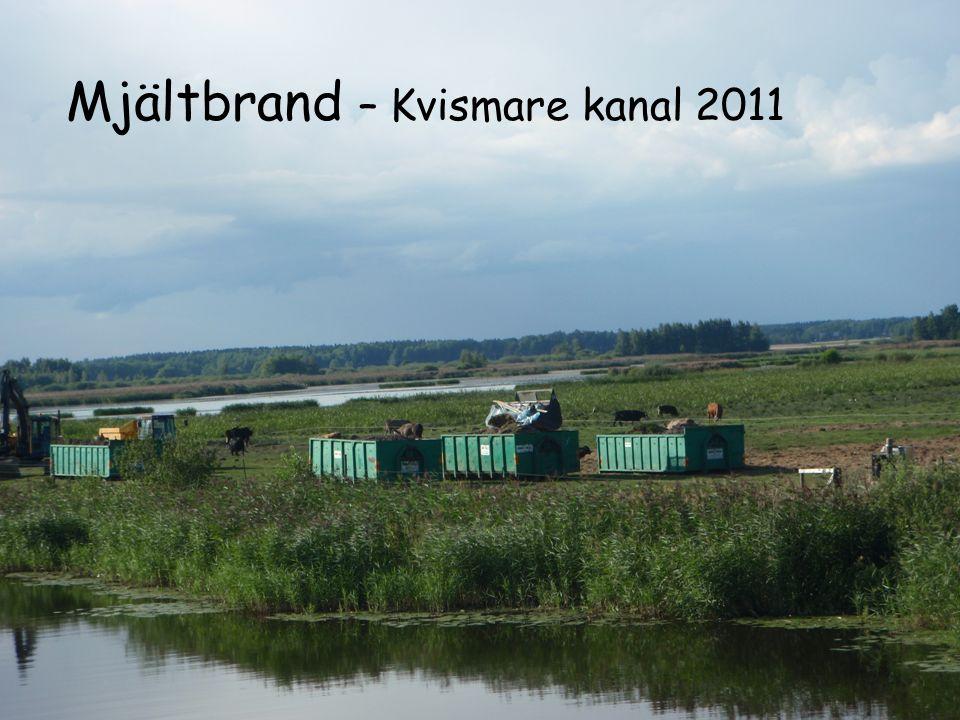 ÖREBRO COUNTY COUNCIL Mjältbrand – Kvismare kanal 2011