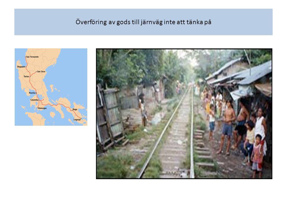 Slutet 1970-tal till slutet av 1980-talet: – Plan på att bygga motorväg mellan Marikina (förort Manila) – Infanta slutet 1970-talet.