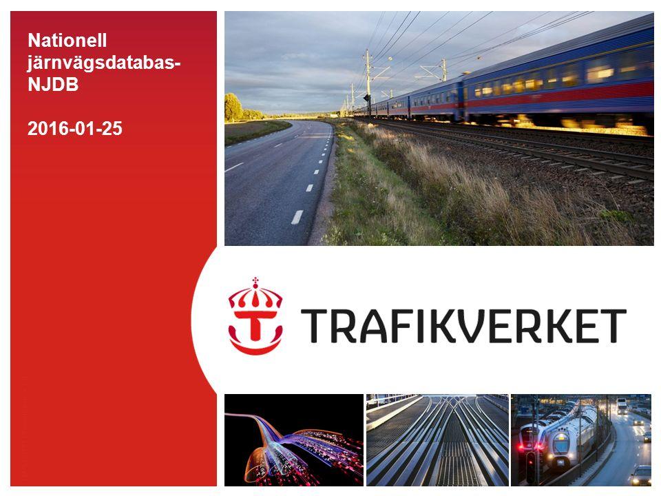 TMALL 0141 Presentation v 1.0 Nationell järnvägsdatabas- NJDB 2016-01-25
