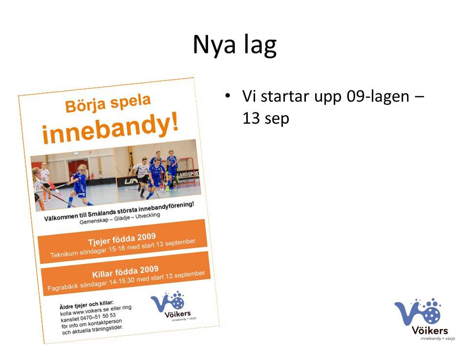 Samarbete föreningar Vipers på herrsidan Hovshaga på damsidan Erbjudande för spelare och ledare att köpa säsongskort hos Vipers till förmånligt pris Camper under skolloven i samarbete med Vipers