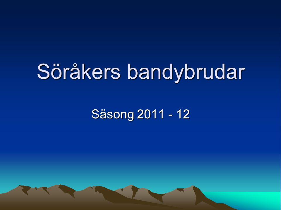 Söråkers bandybrudar Säsong 2011 - 12