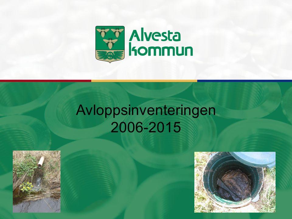 Avloppsinventeringen 2006-2015