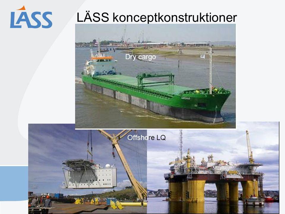 LÄSS konceptkonstruktioner Fraktfartyg Offshore LQ Dry cargo
