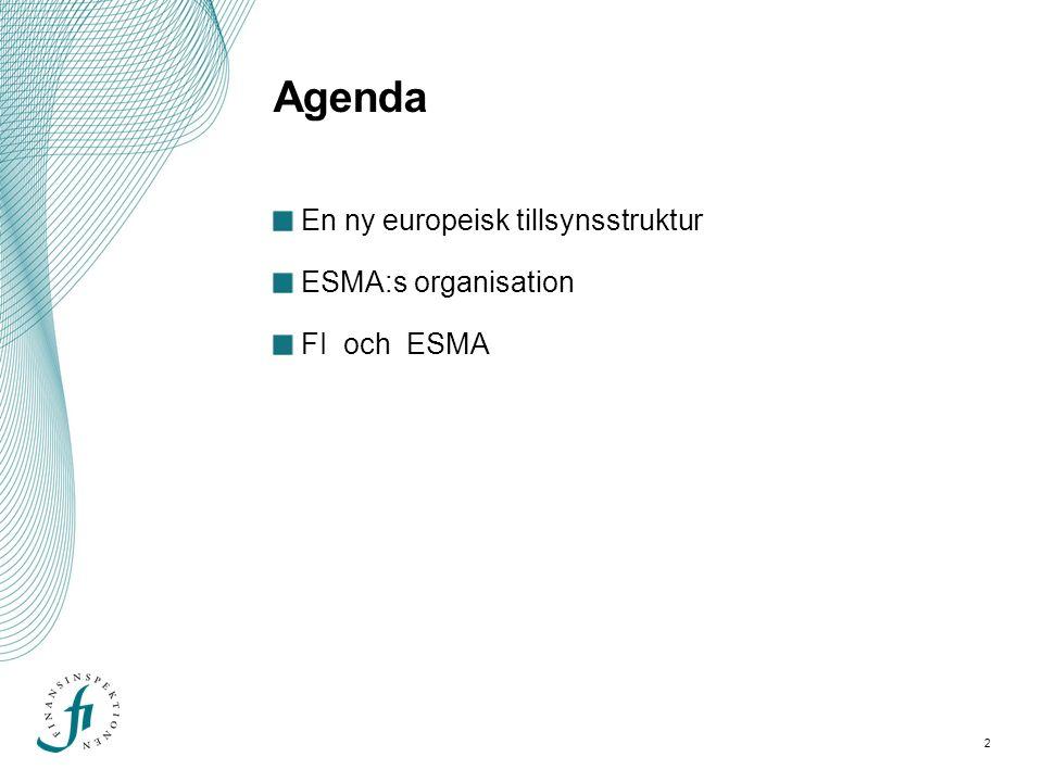 3 En ny europeisk tillsynsstruktur
