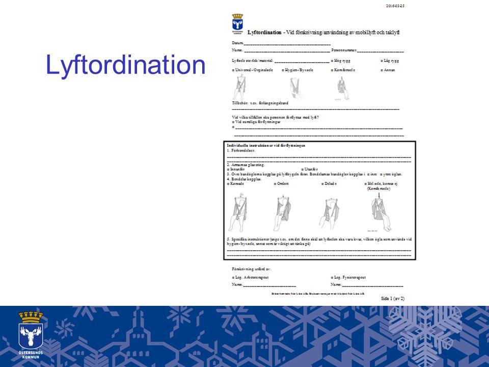 Lyftordination