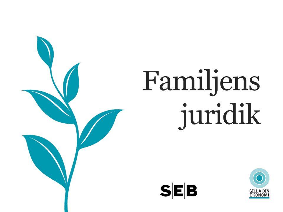 FAMILJENS JURIDIK Gift, sambo eller särbo.