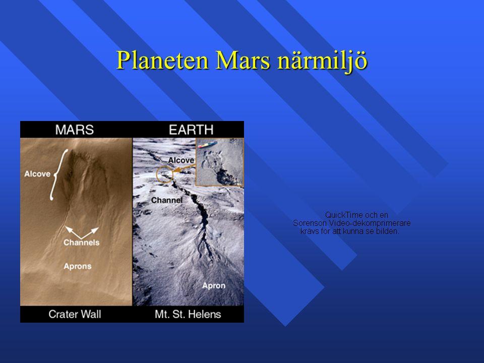 Planeten Mars närmiljö