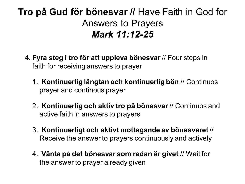 Tro på Gud!