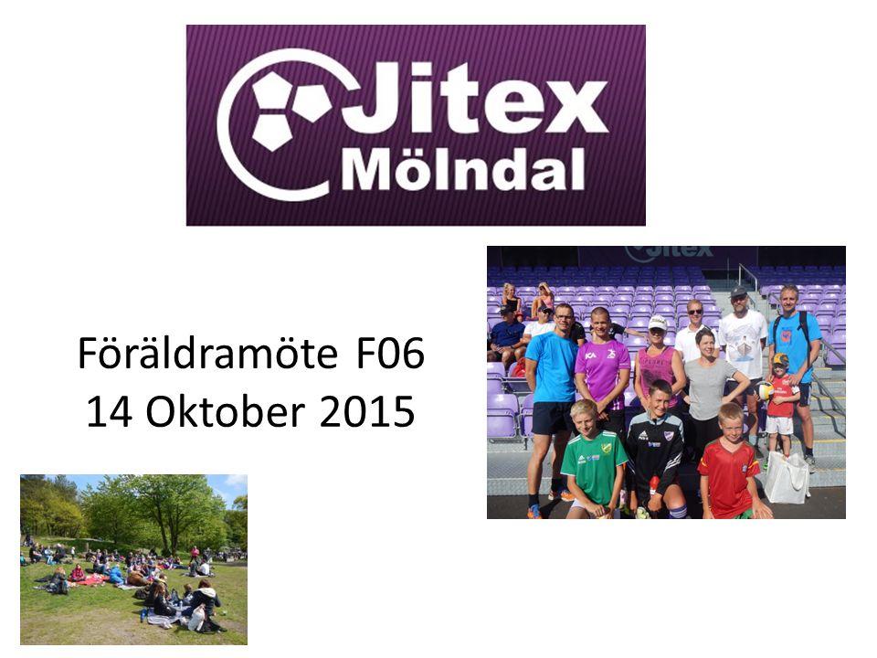 Föräldramöte F06 14 Oktober 2015