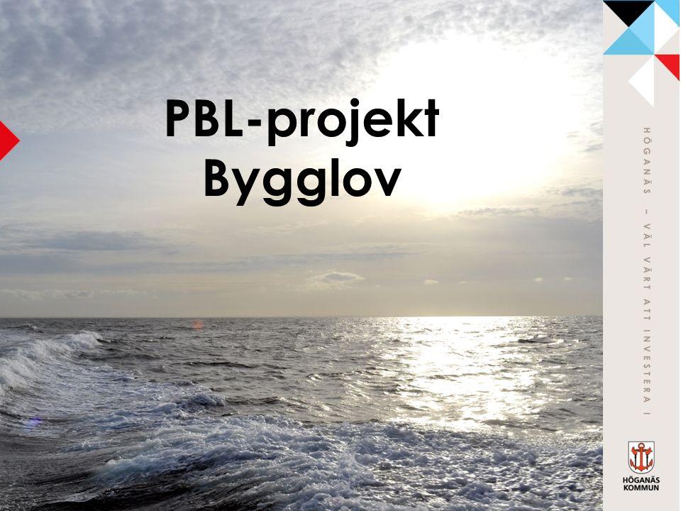 PBL-projekt Bygglov