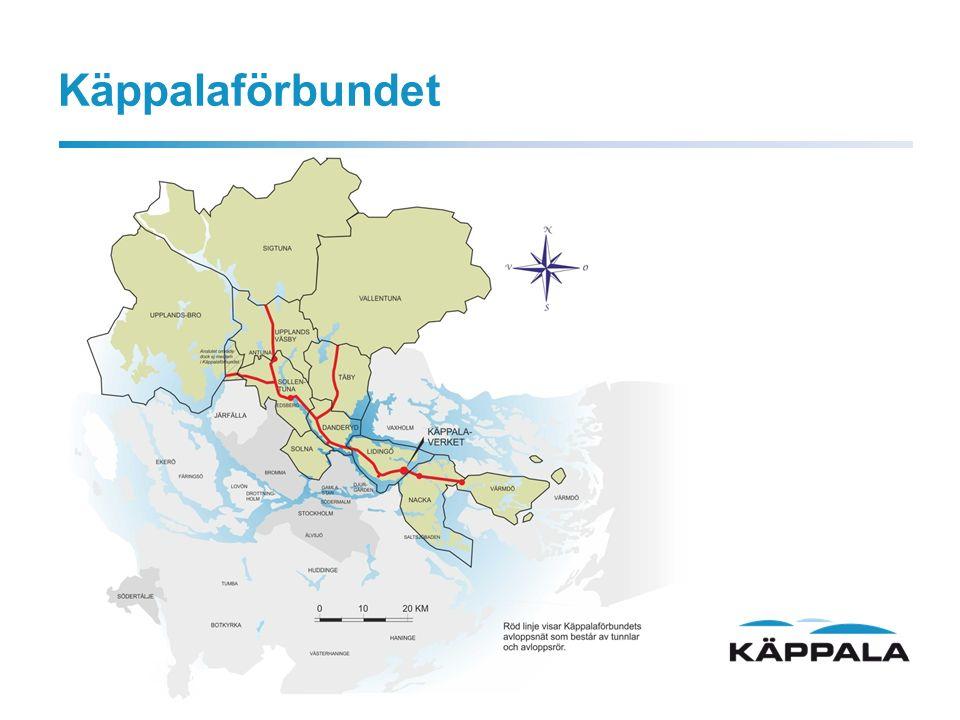 2012 Utvecklingsmål: Att minska tillskottsvatten i spillvattensystemet som är anslutet till Käppalaverket.