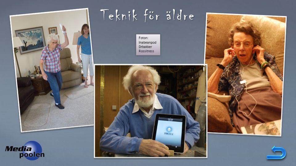 Teknik för äldre Foton: Inabeanpod Drbakker Rossitress