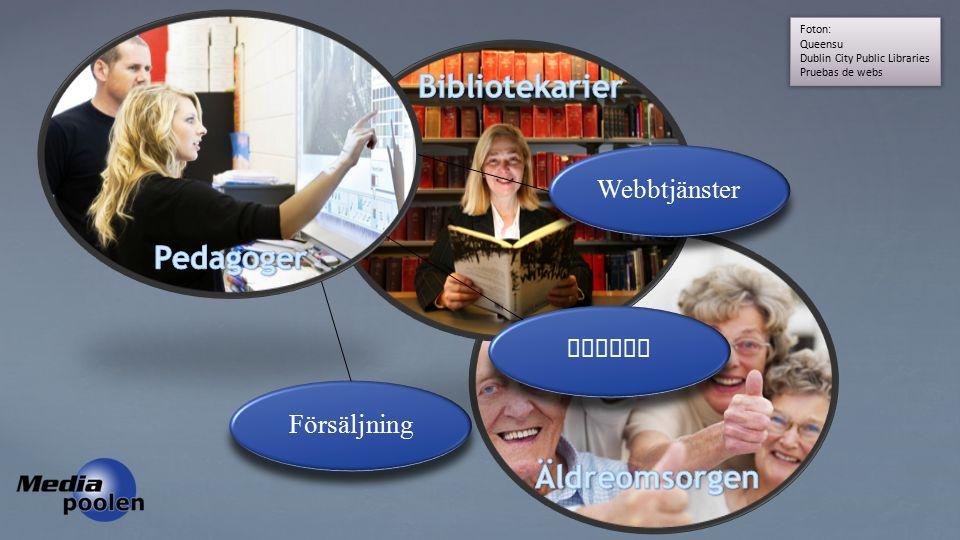 Foton: Queensu Dublin City Public Libraries Pruebas de webs Webbtjänster Kurser Försäljning
