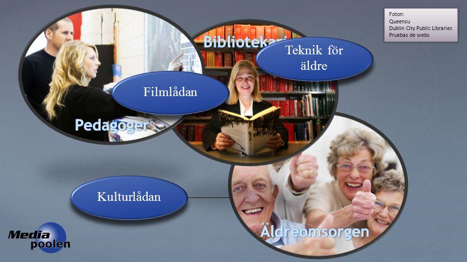 Foton: Queensu Dublin City Public Libraries Pruebas de webs Teknik för äldre Teknik för äldre Filmlådan Kulturlådan