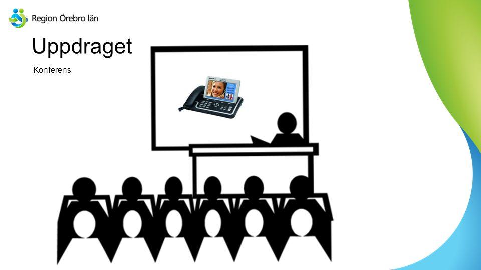 Sv Anordna minst en konferens per år för landstingens förskrivare och annan personal som jobbar med utrustning för elektronisk kommunikation.