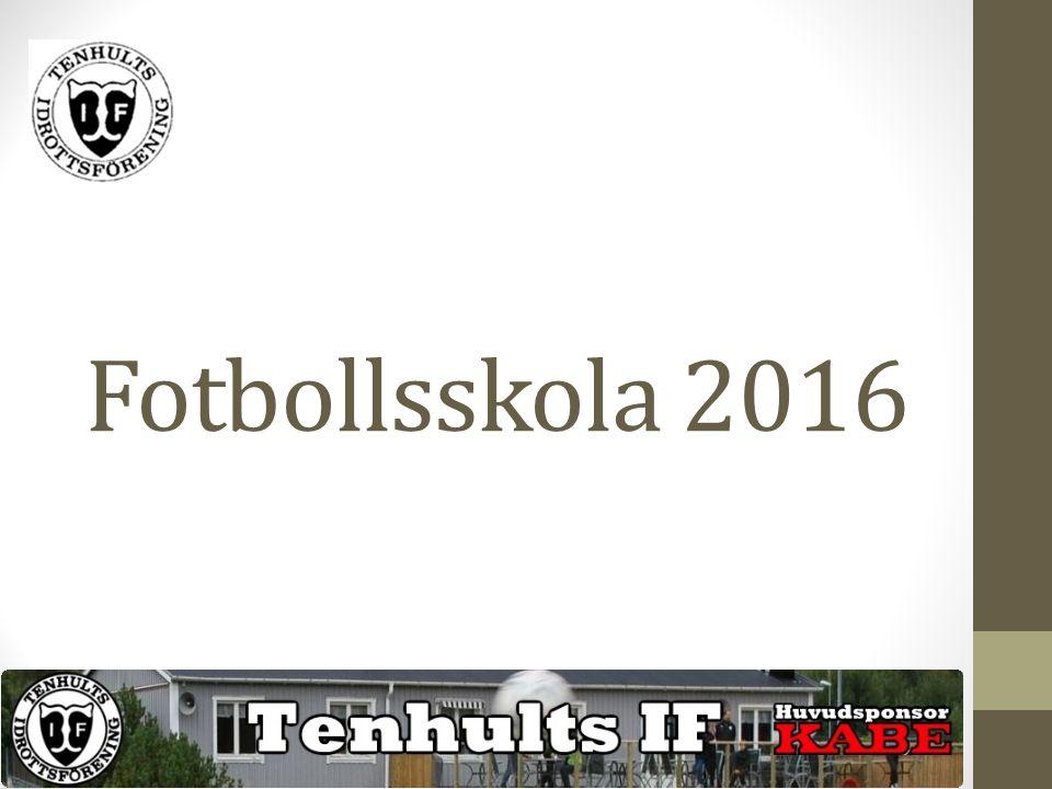 Fotbollsskola 2016