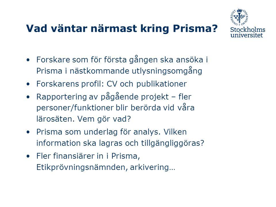 Vad väntar närmast kring Prisma.