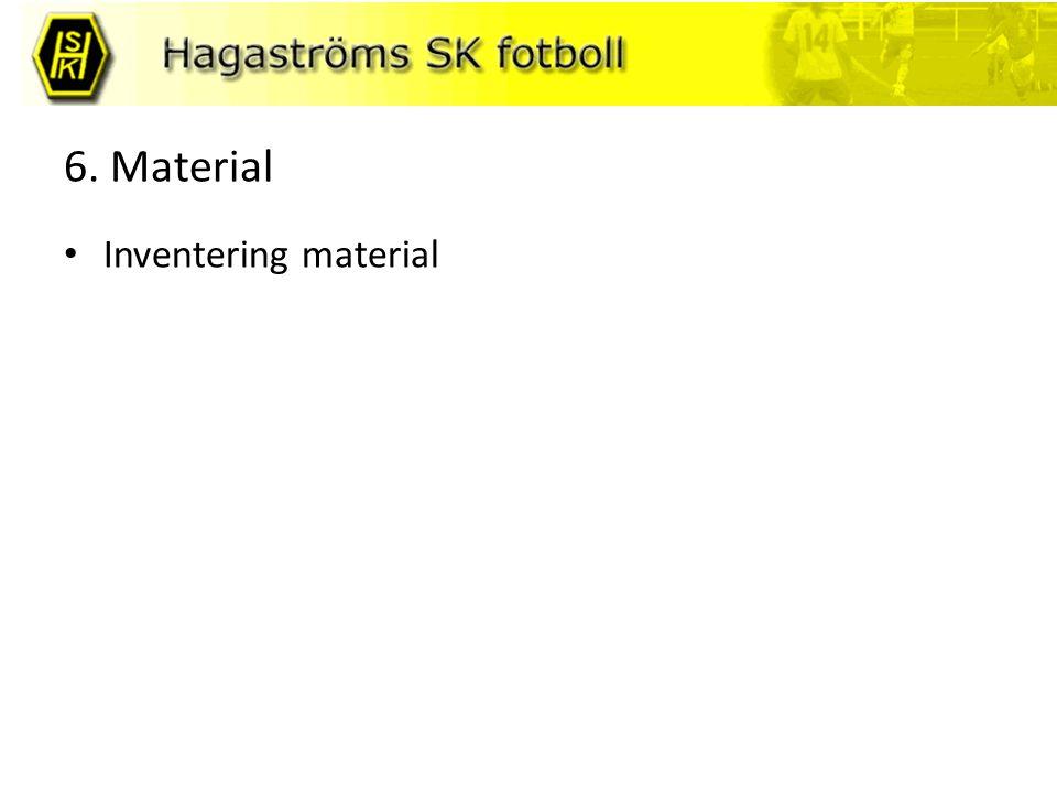 6. Material Inventering material