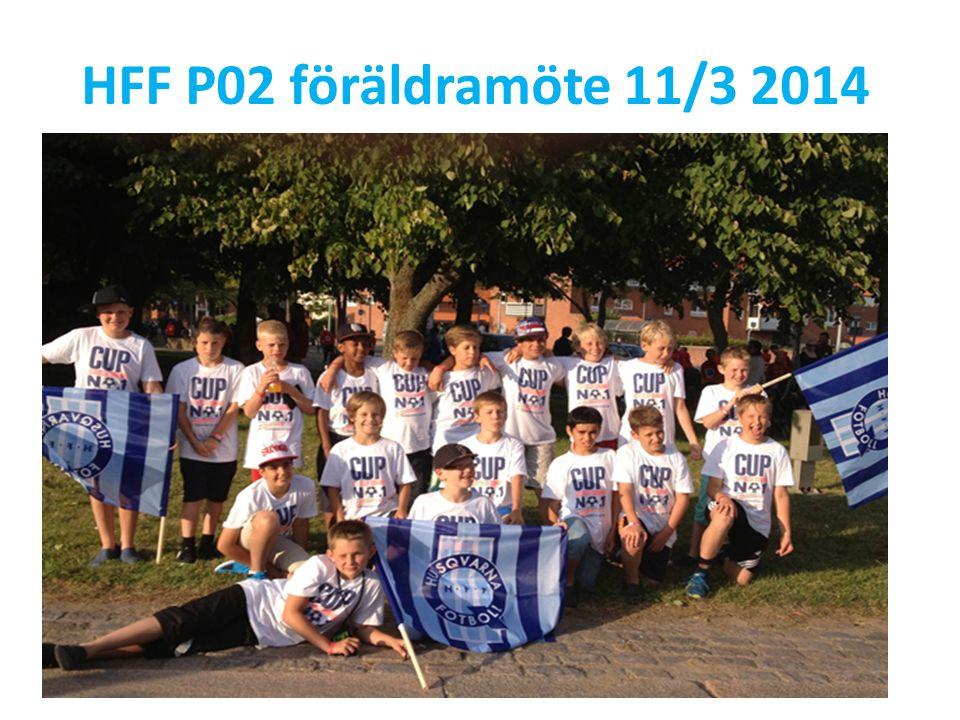 HFF P02 föräldramöte 11/3 2014