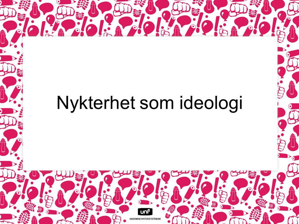 Nykterhet som ideologi