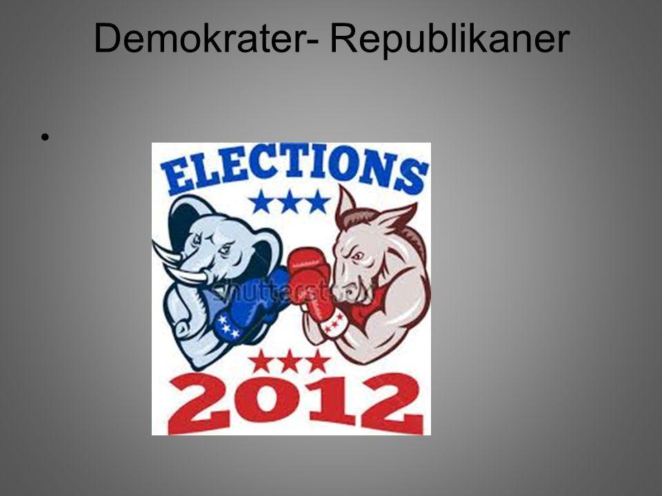Demokrater- Republikaner