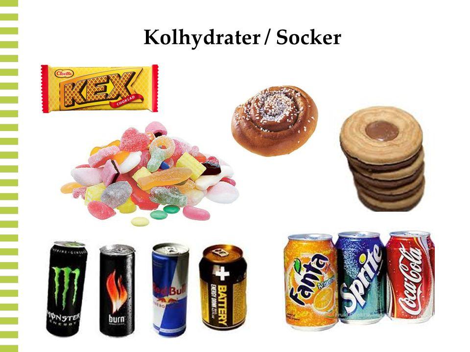 Kolhydrater / Socker