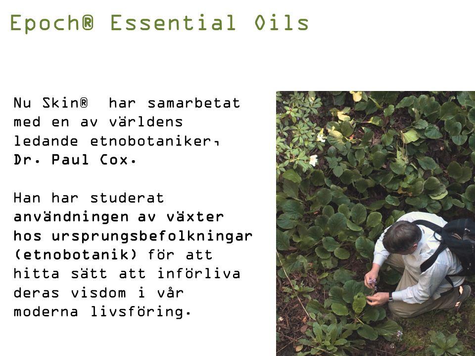 Kvalitetsprocessen 6S Epoch® Essential Oils