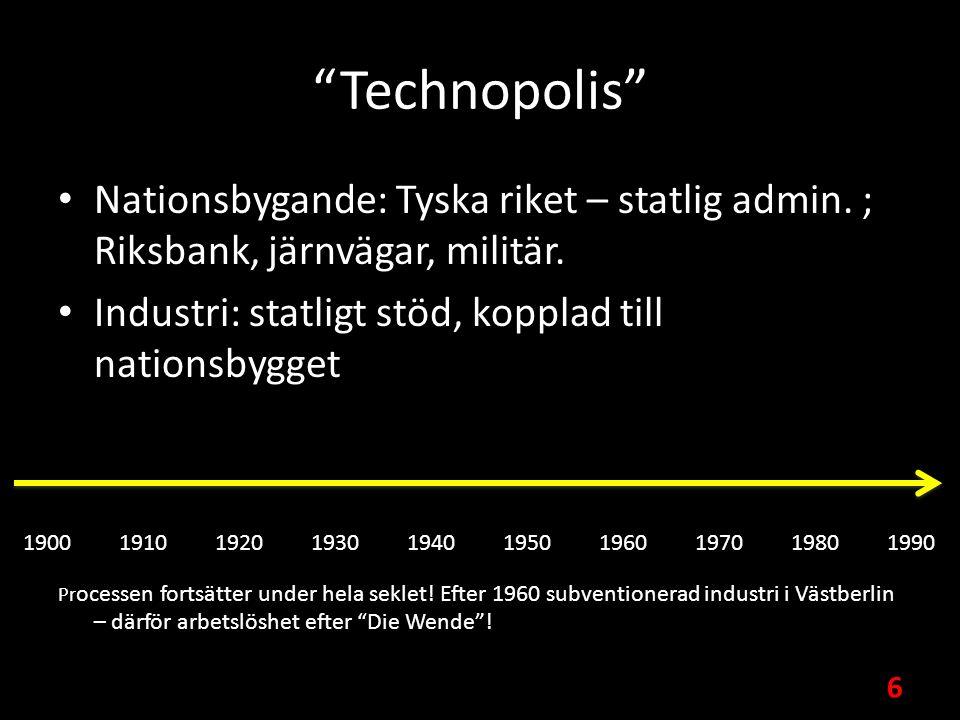 Technopolis Nationsbygande: Tyska riket – statlig admin.