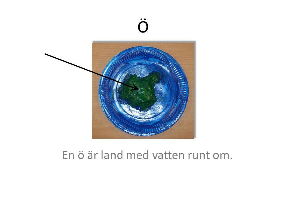 Näs Näs är smalt land med vatten på båda sidor.
