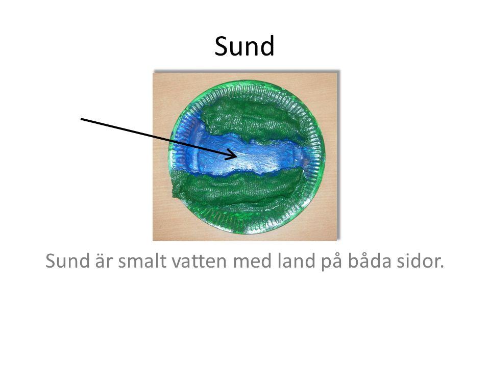 Udde Udde är en liten landbit som går ut i vatten. Den har vatten på 3 sidor och är rund.