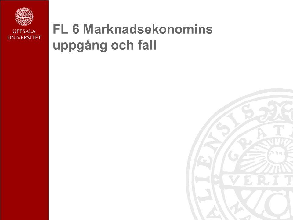 FL 6 Marknadsekonomins uppgång och fall