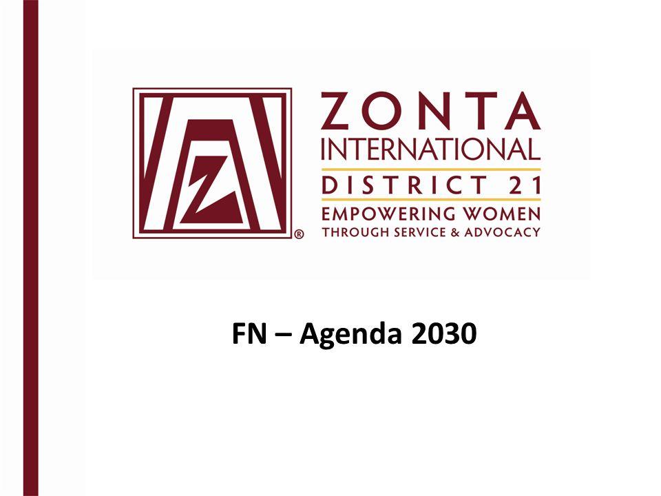FN – Agenda 2030