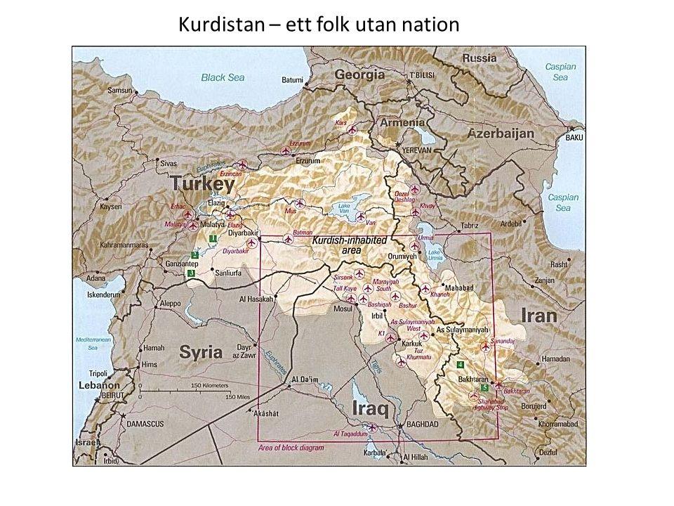 Kurdistan – ett folk utan nation