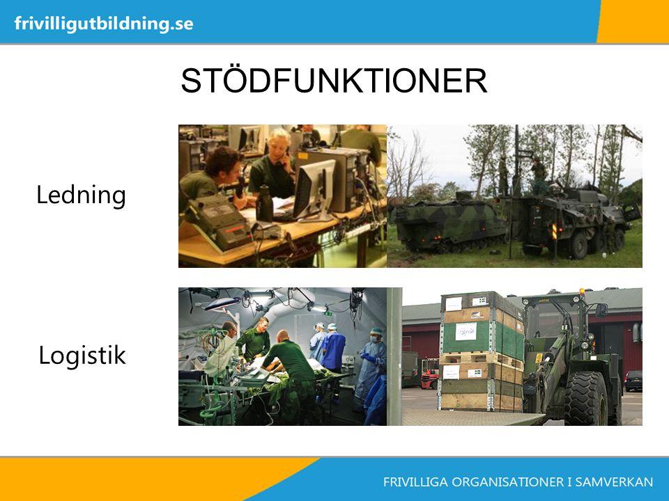 STÖDFUNKTIONER Ledning Logistik